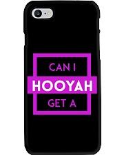 Can I Get A Hooyah Phone Case - Pink Logo  Phone Case i-phone-8-case