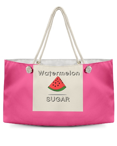 Watermelon Sugar High Weekend Tote Bag