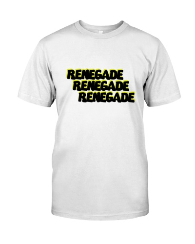 Renegade T-Shirt with Yellow and Black Logo