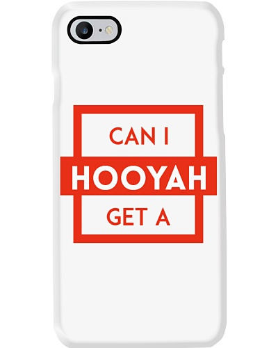 Can I Get a Hooyah Phone Case - Red