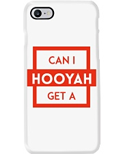 Can I Get a Hooyah Phone Case - Red Phone Case i-phone-8-case