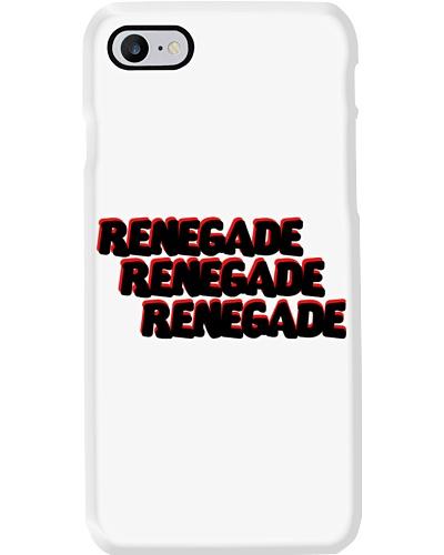 Renegade Rend and Black Logo Phone Case