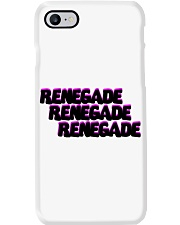 Renegade Black with Pink Logo Phone Case Phone Case i-phone-8-case