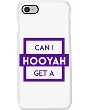 Can I Get a Hooyah Phone Case - Purple Phone Case i-phone-8-case
