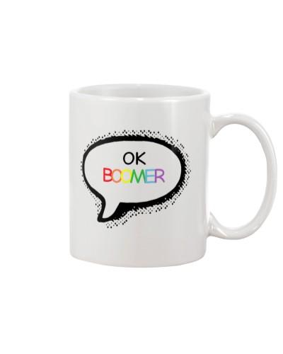 OK Boomer Ceramic Coffee Mug