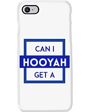 Can I Get a Hooyah Phone Case - Blue Phone Case i-phone-8-case