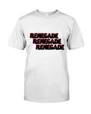 Renegade T-Shirt with Black and Red Logo  Classic T-Shirt front