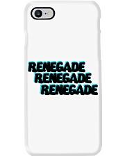 Renegade Black with Blue Logo Phone Case Phone Case i-phone-8-case