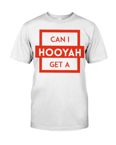 Can I Get a Hooyah Shirt - Red