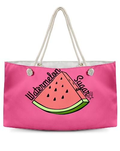 Watermelon Sugar Weekend Tote Bag