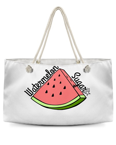 Watermelon Sugar Weekend Tote Bag