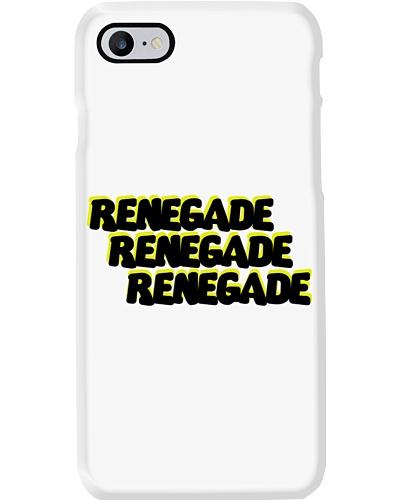 Renegade Black and Yellow Logo Phone Case