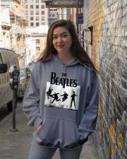 The Beatles Jump at Sefton Park T-shirt Hooded Sweatshirt lifestyle-unisex-hoodie-front-1