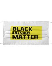 Black Lives Matter Cloth face mask thumbnail