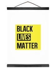 Black Lives Matter 12x16 Black Hanging Canvas thumbnail