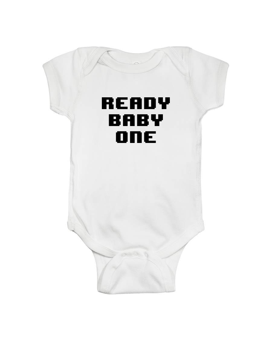 Ready Baby One 8-bit Onesie