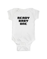 Ready Baby One 8-bit Onesie front