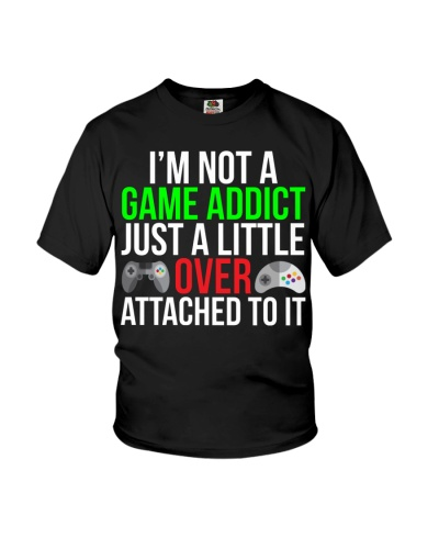 Game Addict Funny Video Gamer T-shirt