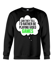 Funny Video Games Gift T-shirt Crewneck Sweatshirt thumbnail