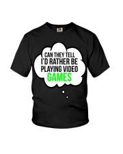 Funny Video Games Gift T-shirt Youth T-Shirt thumbnail