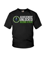 Cool Video Game Addict Pilot T-shirt Youth T-Shirt thumbnail