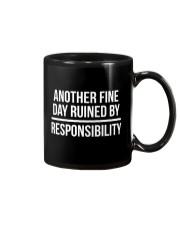 Responsibility Funny Lazy Humor T-shirt  Mug thumbnail