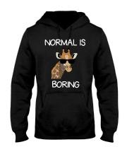 Normal Is Boring Giraffe Funny Cool Gift T-shirt Hooded Sweatshirt thumbnail