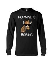 Normal Is Boring Giraffe Funny Cool Gift T-shirt Long Sleeve Tee thumbnail