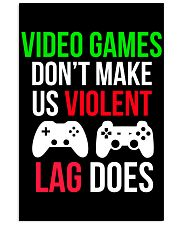 Lag does Funny Cool Video Game Poster 16x24 Poster front