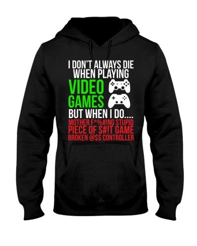 Funny Hilarious Video Gaming Hoodie