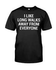 Funny Sarcastic Introvert Quote T-Shirt Classic T-Shirt front