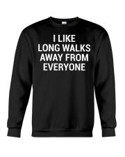 Funny Sarcastic Introvert Quote T-Shirt Crewneck Sweatshirt thumbnail