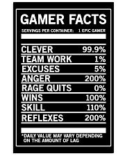 Gamer Facts Funny Video Game Poster 16x24 Poster front