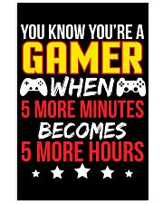 Funny Video Gamer Gaming Poster 16x24 Poster front