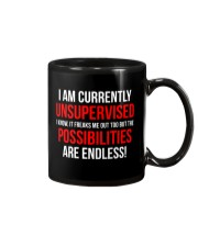 Funny Unsupervised Teenager T-shirt  Mug thumbnail