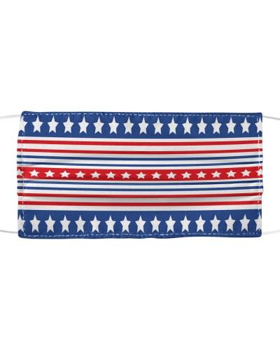 USA stars mask