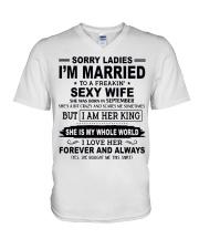 Wife September V-Neck T-Shirt thumbnail