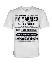 Wife June V-Neck T-Shirt thumbnail