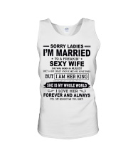 Wife August Unisex Tank tile