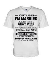 Wife August V-Neck T-Shirt thumbnail