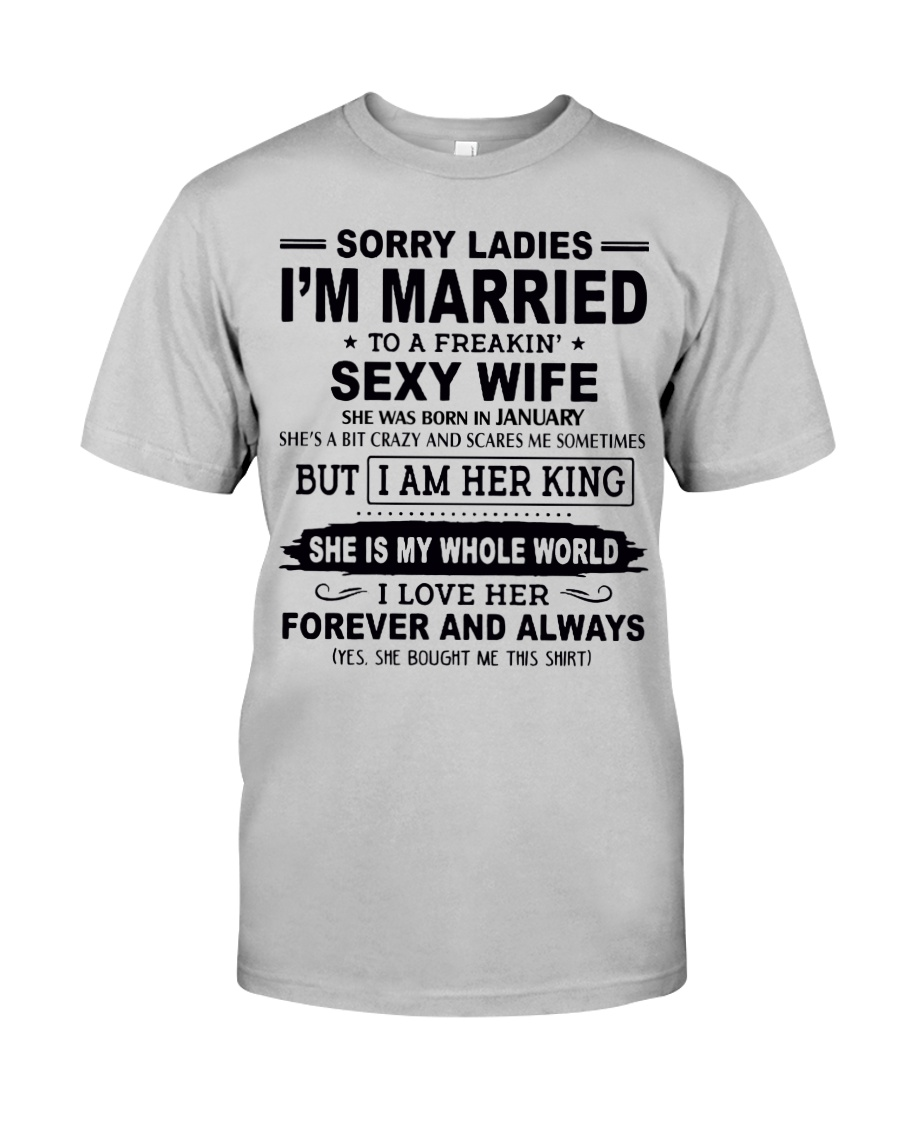 Wife January Classic T-Shirt