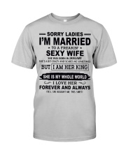 Wife January Classic T-Shirt front