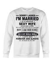 Wife  April Crewneck Sweatshirt thumbnail