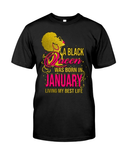 A Black Queen January