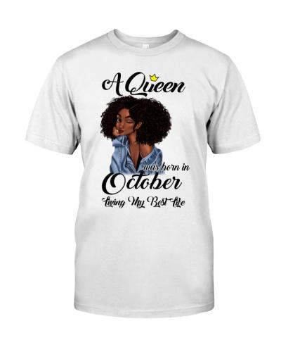 A Queen October