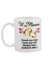 To My Fiancee Mug back