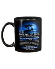 I LOVE YOU - MY FIANCEE Mug back