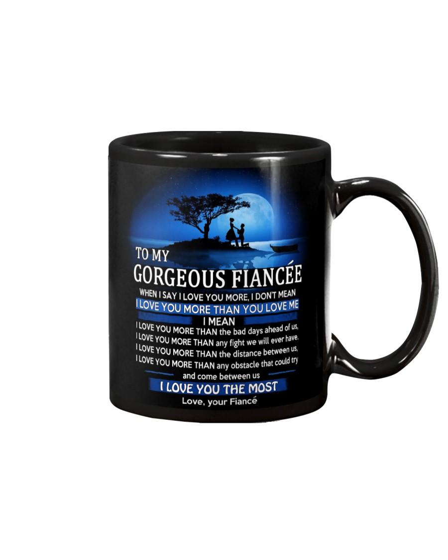 I LOVE YOU - MY FIANCEE Mug