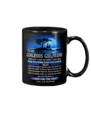 I LOVE YOU - MY GIRLFRIEND Mug front