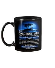 I LOVE YOU - MY WIFE Mug back